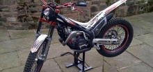 Rich's motorcross bike